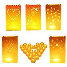 Bolsas para velas y linternas