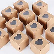 Cajas de papel regalos invitados