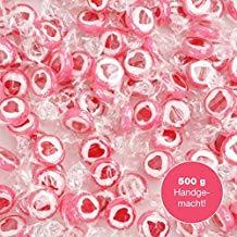 Caramelos de corazones