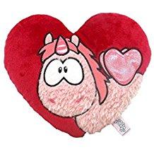 Cojín Unicornio corazón