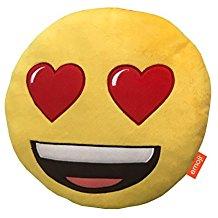 Emoji enamorado ojos corazón