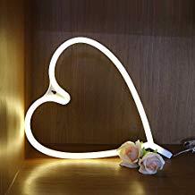 Lámpara de pared de neón