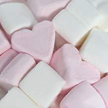 Nubes de azúcar de corazones