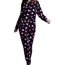 Pijama mono negro mujer