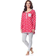 Pijama premamá rosa