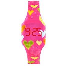 Reloj digital niña de silicona