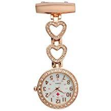 Reloj analógico enfermera