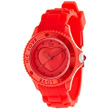 Reloj rojo Ice Love silicona