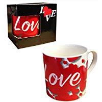 Taza roja Love