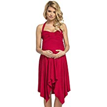 Vestido rojo premamá