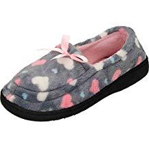 Zapatillas mujer corazones