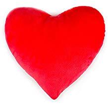 Cojín almohada roja
