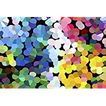 Alfombra vinilo multicolor