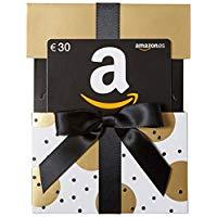 Tarjeta regalo Amazon en estuche negro