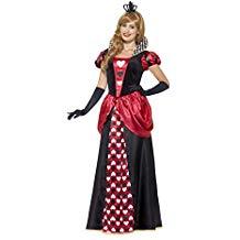 Disfraz reina roja