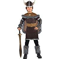 Disfraz vikingo niños