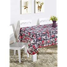 Mantel de mesa estmpado corazones
