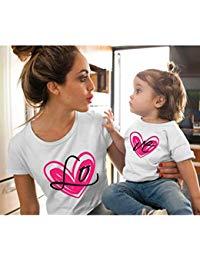 Camiseta mujer corazon dibujos