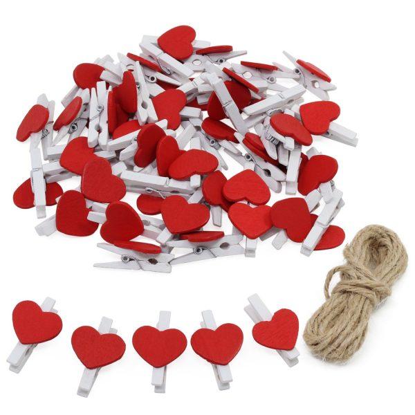 PInzas corazones rojos